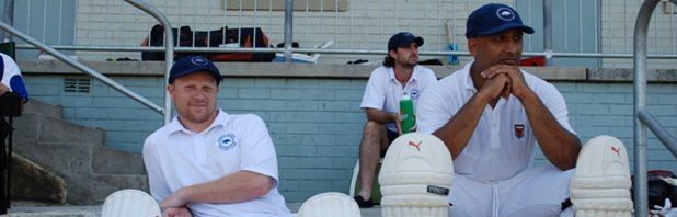 Justin and Gavin at Artarmon Oval